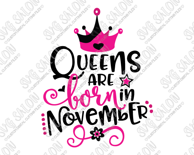 november birthday clipart ; Queens-Are-Born-In-November-Large-Sample