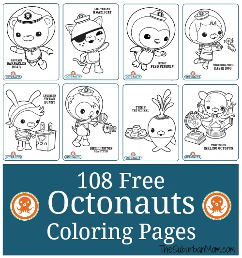 octonauts birthday card printable ; 108-Free-Octonauts-Coloring-Printable-Pages