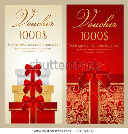 on the border birthday coupon ; stock-vector-voucher-gift-certificate-coupon-template-with-border-bow-ribbons-present-holiday-151653572