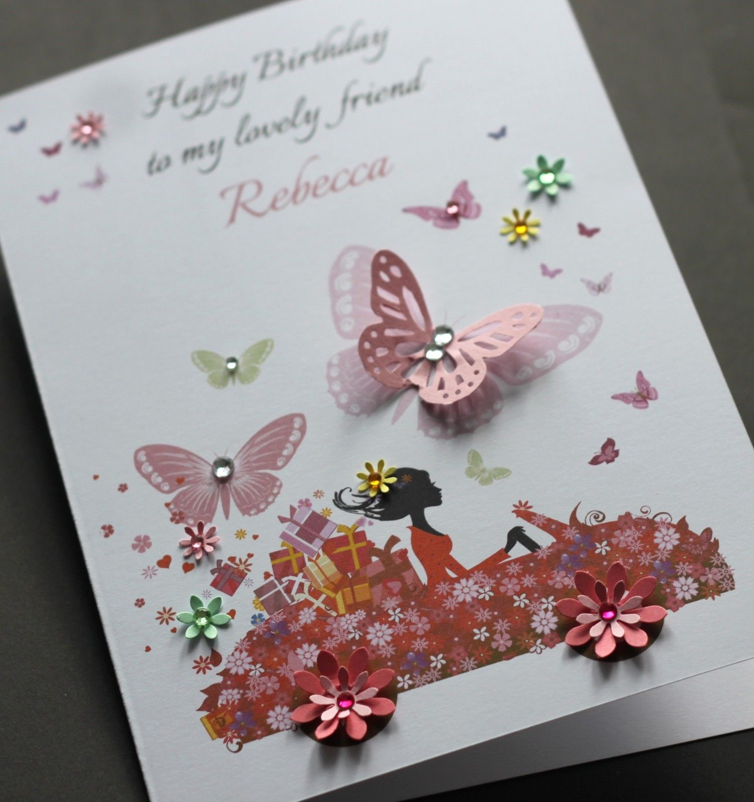 online birthday greeting cards for friends ; A5-Handmade-Personalised-CUTE-CAR-Birthday-Card-sister-friend-daughter-mum_4