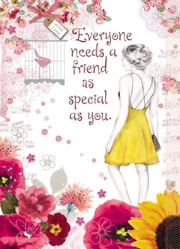 online birthday greeting cards for friends ; buy-special-friend-birthday-card-online-birthday-cards-for-special-friends-best-friend-card-with-gold-dress-bird-birdcage-flowers_grande