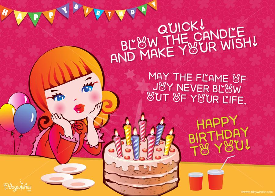 online birthday greeting cards for friends ; make-your-wish-friend-birthday-02