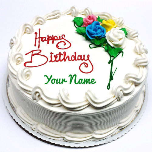 online birthday image editor ; birthday-wishes-edit-name-and-photo-online-contemporary-decoration-happy-birthday-cake-with-name-edit-chic-idea-pretty-vanilla-round-shape-your