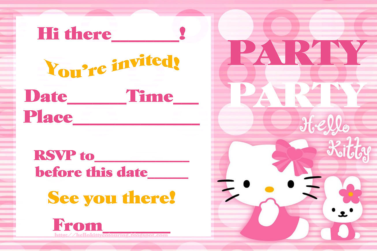 online photo editor for birthday invitations ; hello-kitty-birthday-invitation-free