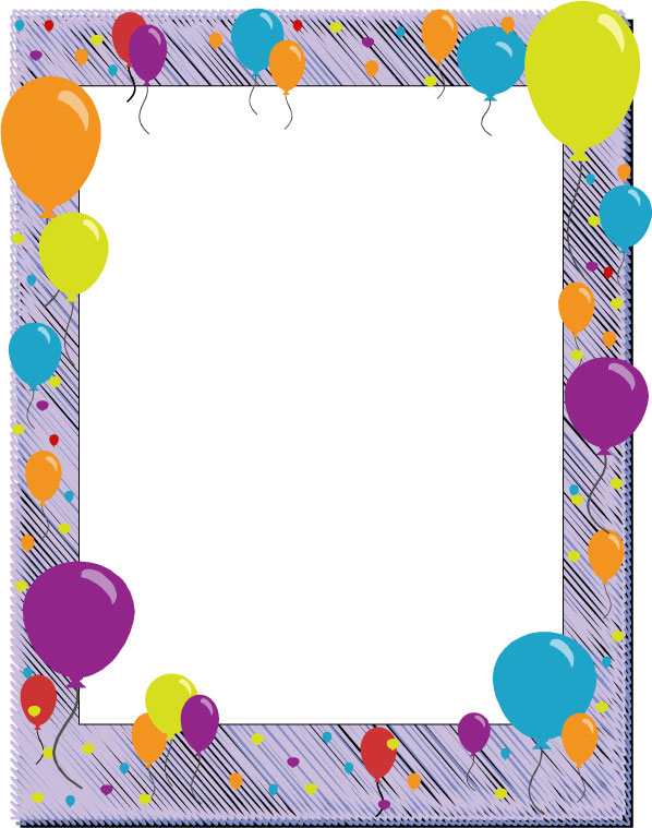 page borders for birthdays ; Birthday-Border