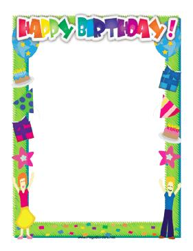 page borders for birthdays ; Happy_Birthday_Border