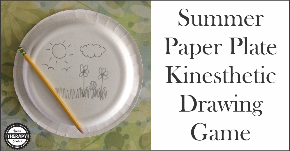 paper plate drawing game birthday ; Summer-Paper-Plate-Kinesthetic-Drawing-Game-from-YTS