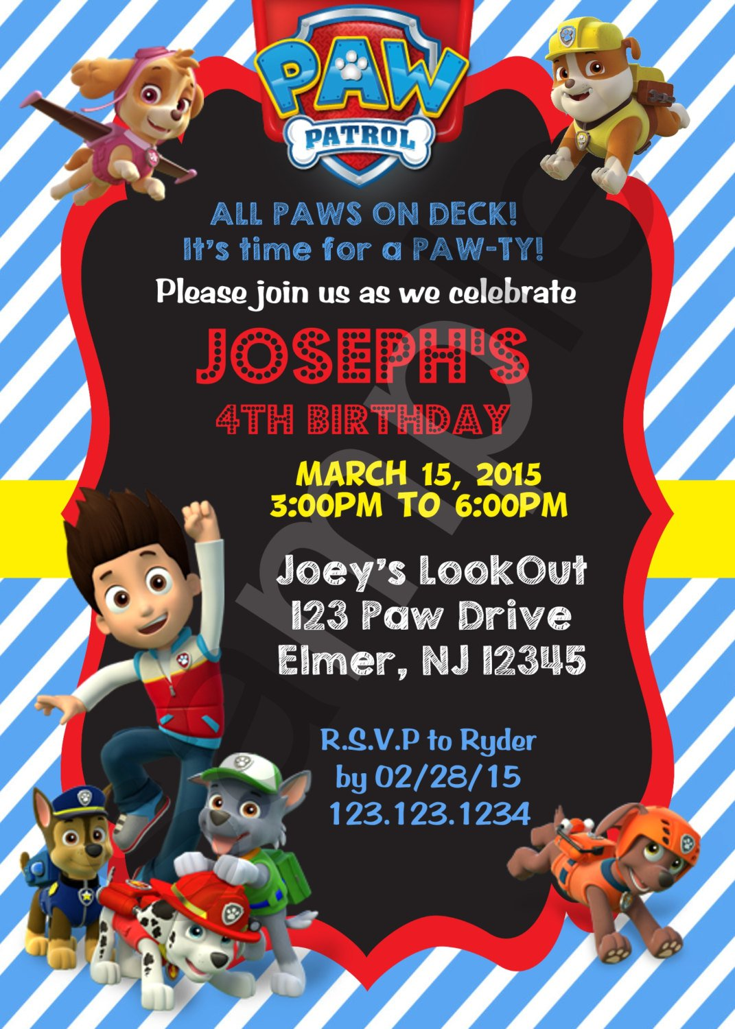 paw patrol birthday invitation template ; paw-patrol-birthday-invitations-free