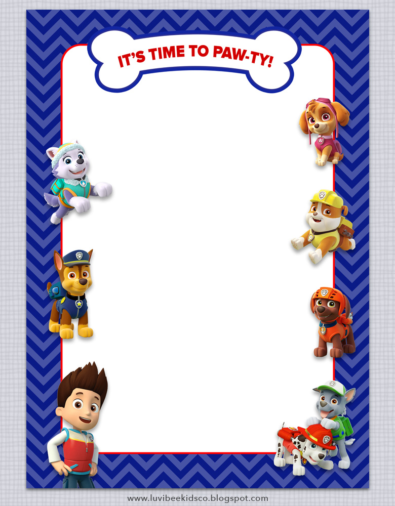 paw patrol birthday invitation template ; paw-patrol-invitation-free-printable-template