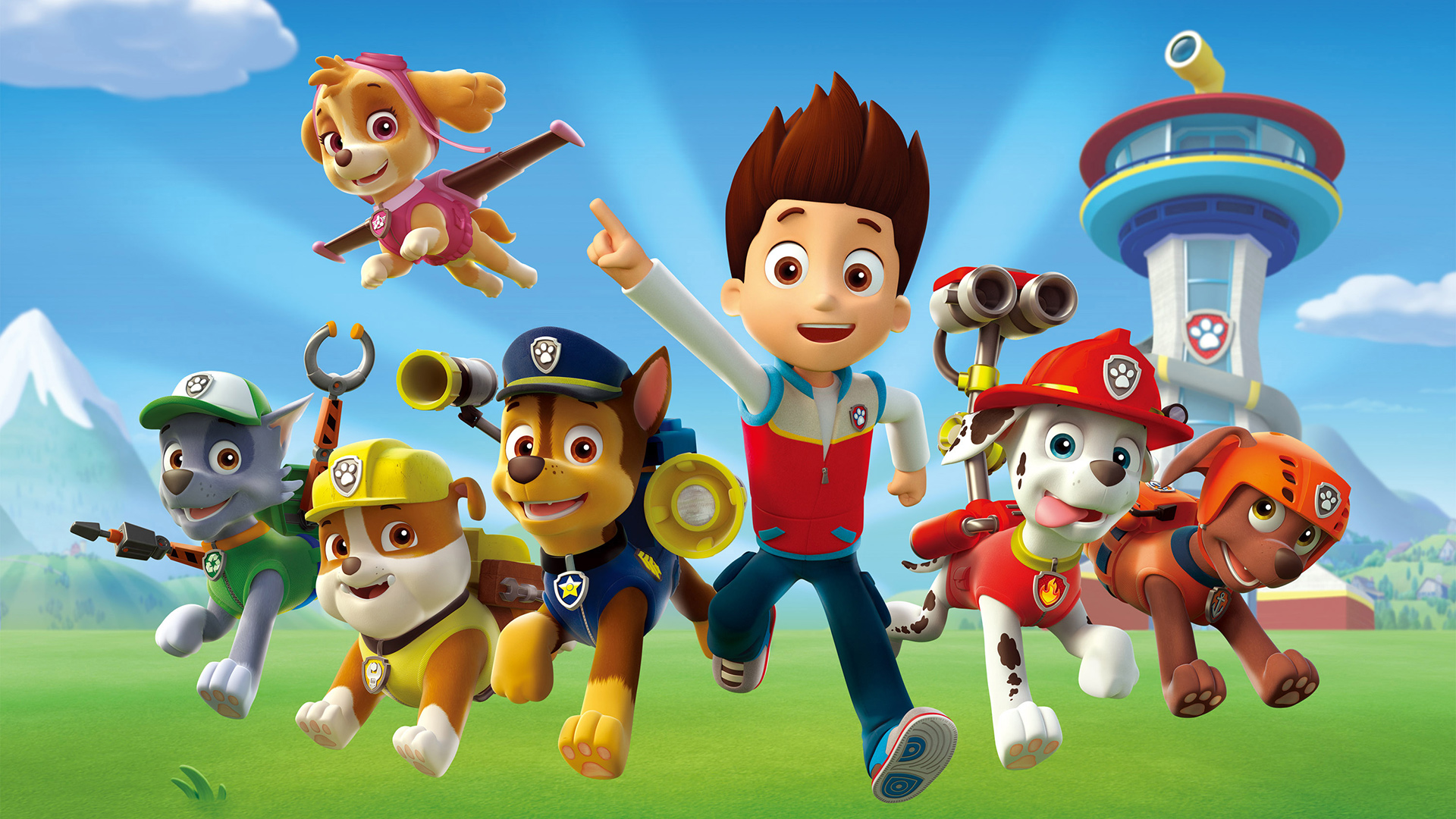 paw patrol birthday wallpaper ; 90508