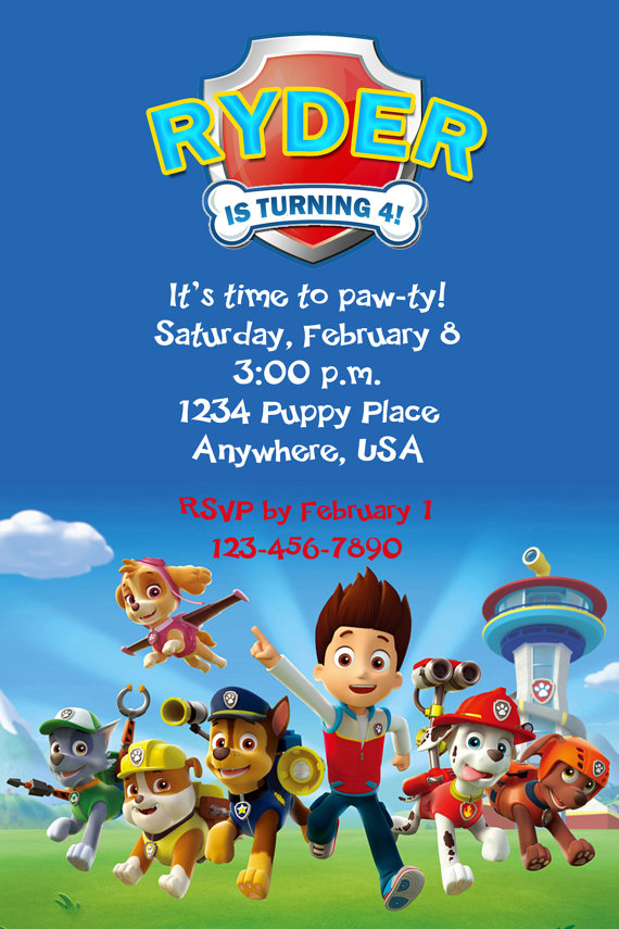 paw patrol birthday wallpaper ; Enchanting-Paw-Patrol-Birthday-Invites-As-An-Extra-Ideas-About-Free-Printable-Birthday-Party-Invitations