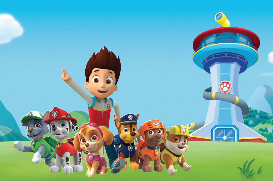 paw patrol birthday wallpaper ; background-paw-patrol-7