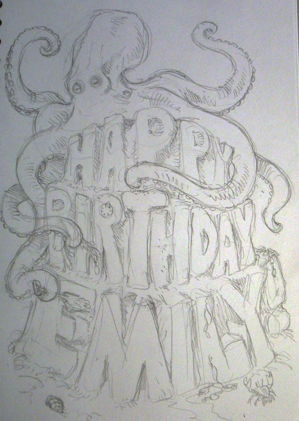 pencil drawing for birthday ; Em%252527s+22nd+birthday+card+in+pencil+form+sm