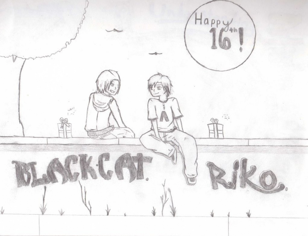 pencil drawing for birthday ; happy-birth-day-pencil-drawing-happy-birthday-aj-part-2-pencil-sketchblackcatoffire-on