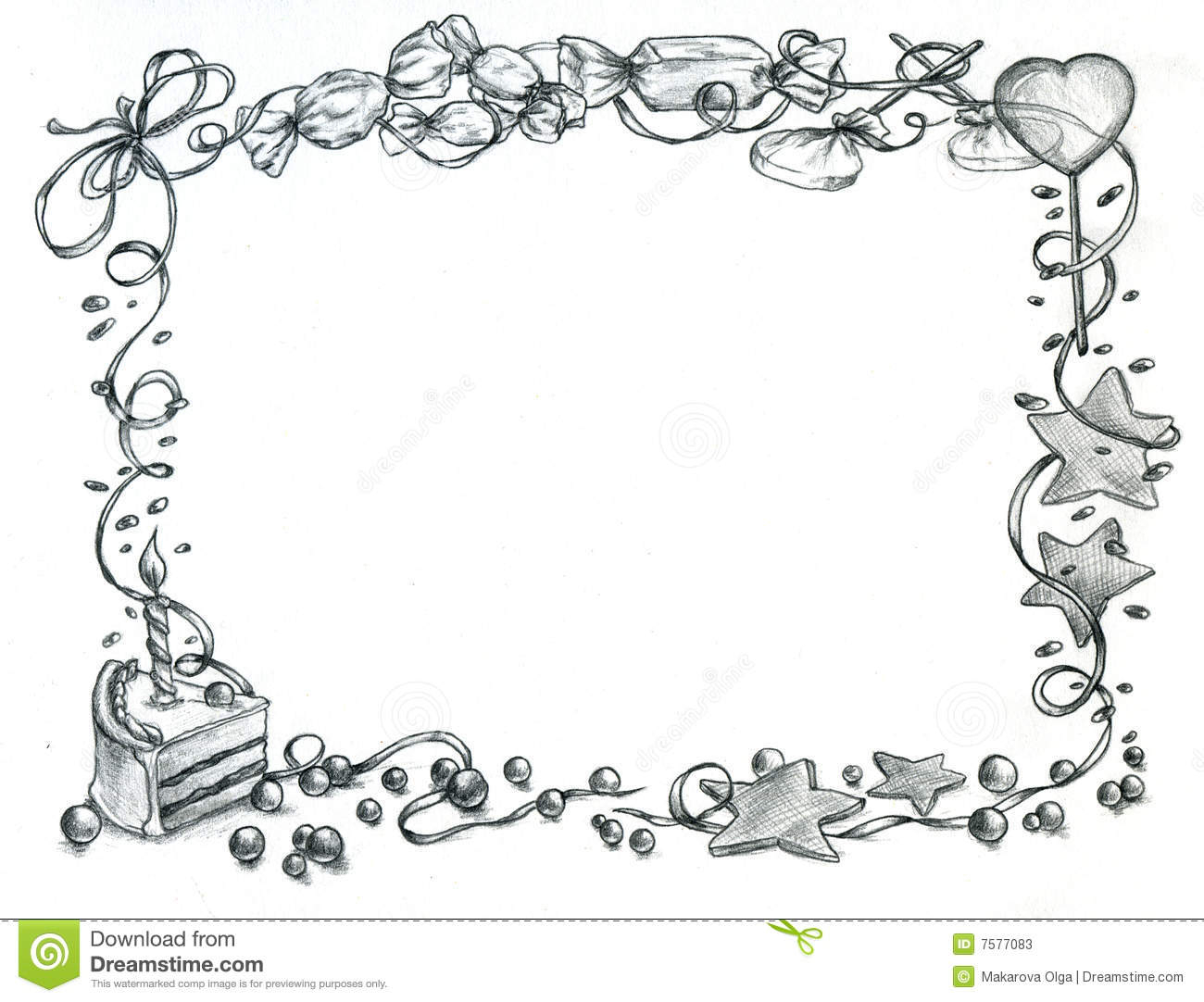 pencil drawing for birthday ; happy-birthday-pencil-drawing-happy-birthday-frame-stock-illustration-image-of-light-7577083