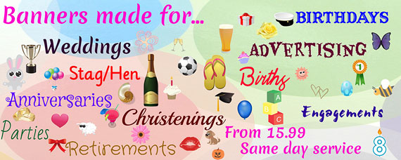 personalised birthday banners online ; 2d82315531c35c6c1733413bdcb5aee7