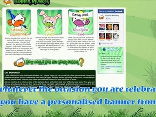 personalised birthday banners online ; x240-wGI
