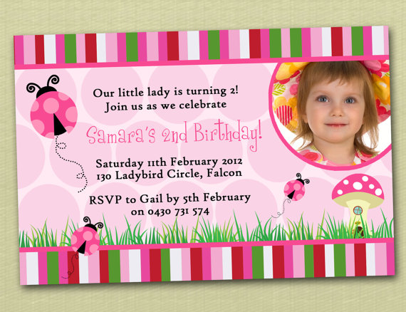 personalised photo birthday invitations ; il_570xN