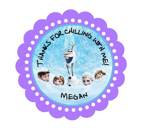 personalized b day stickers ; 2dc41c6cbde61a4c50def34a20402dcd--frozen-cake-frozen-party