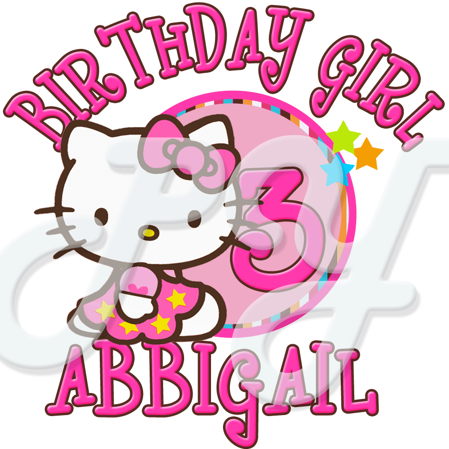 personalized b day stickers ; hello-kitty-personalized-birthday-t-shirt-12