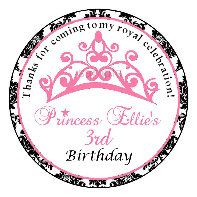personalized birthday party favor stickers ; 14683d5e367bd6c5a09f1532ca34d8d3