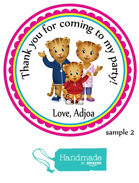 personalized birthday party favor stickers ; 3ac7a33acda23f7fee44ca5cec8bdb62