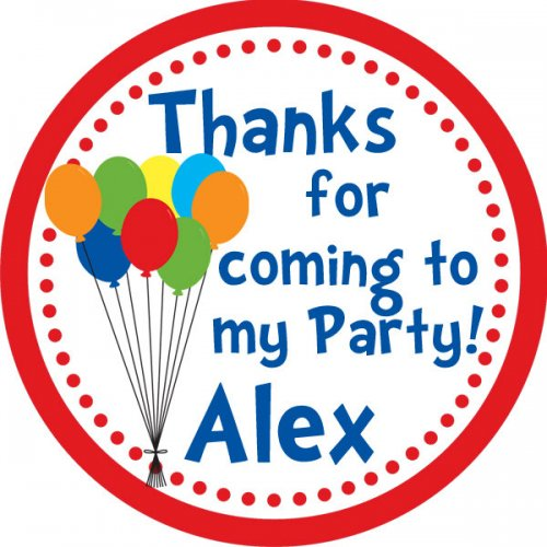 personalized birthday party stickers ; 20_-_2_inch_round_circus_balloon_personalized_birthday_party_stickers_1d281709