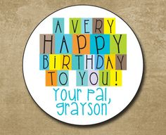 personalized birthday stickers for kids ; f1fd94ac76bd308f5665bbba590d5746--gift-labels-gift-tags