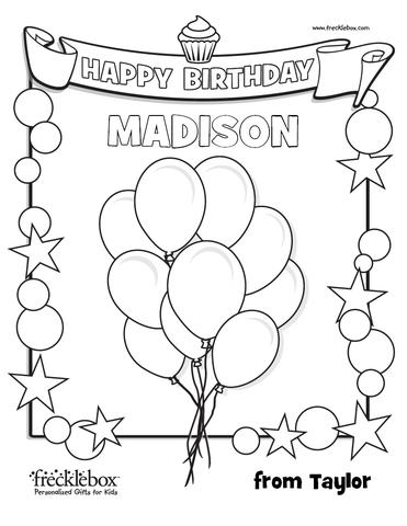 personalized happy birthday coloring pages ; Birthday_Coloring_Page_large