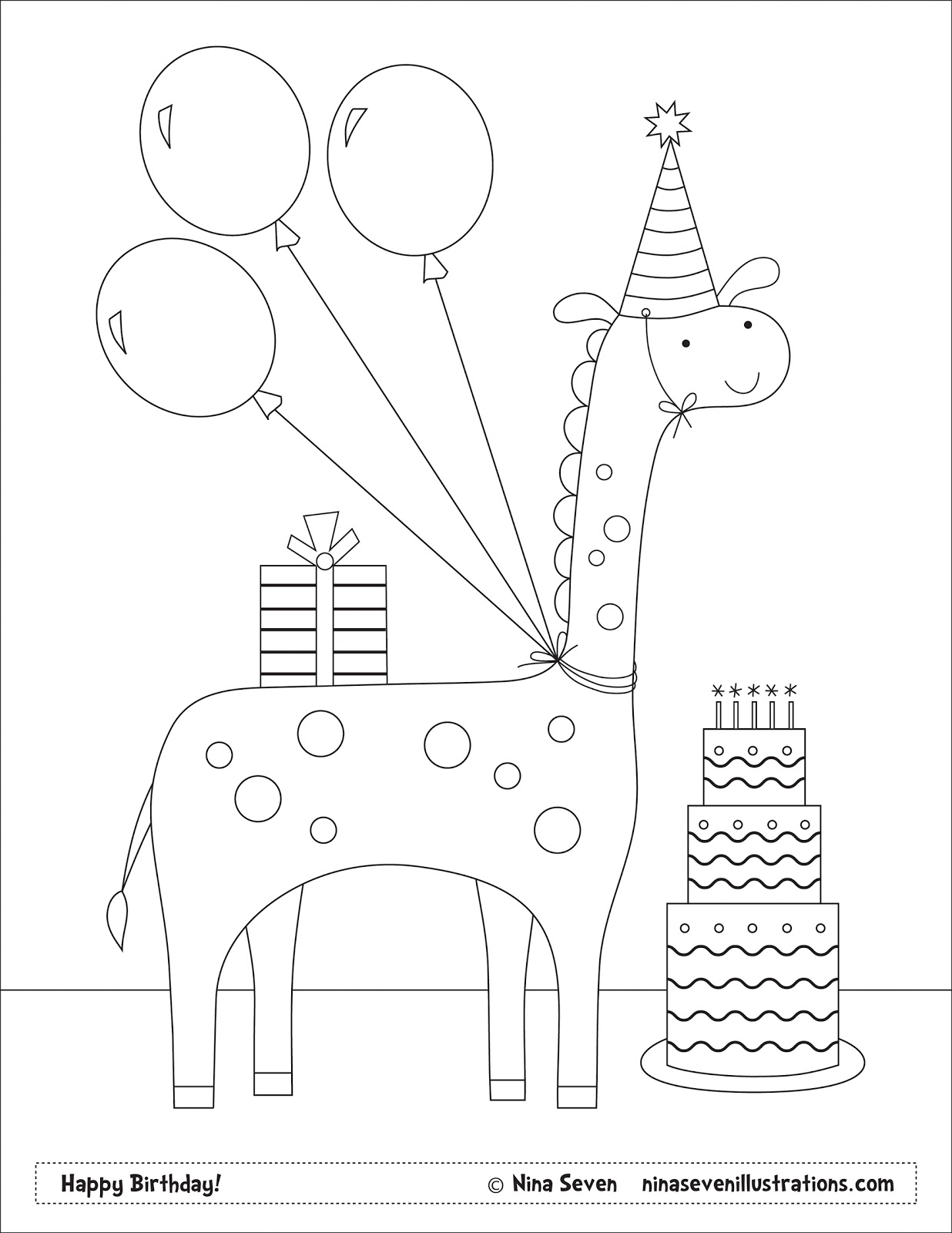 personalized happy birthday coloring pages ; personalized-happy-birthday-coloring-pages-7-g-happy-birthday-coloring-pages