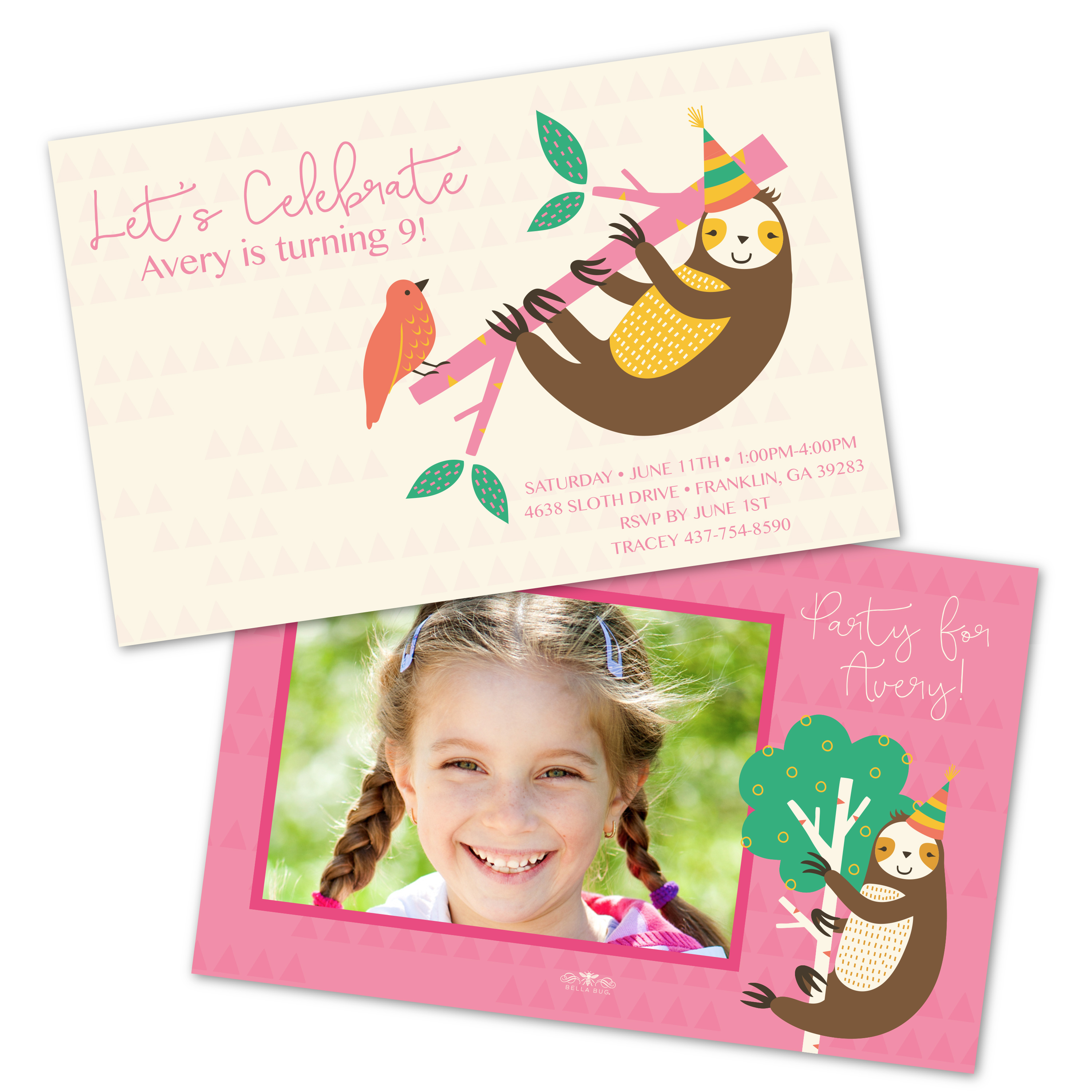 personalized photo birthday party invitations ; 84898401197