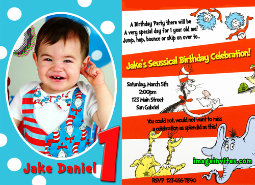 personalized photo birthday party invitations ; custom-birthday-party-invitations-dr-seuss-birthday-party-custom-birthday-party-invitations