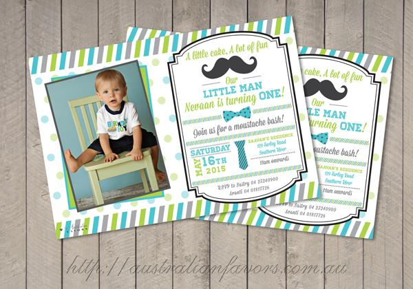 personalized photo birthday party invitations ; my-little-man-personalized-birthday-party-invitation-a