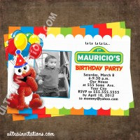 personalized photo elmo birthday invitations ; elmo-photo-invitations-birthdayT4-200x200