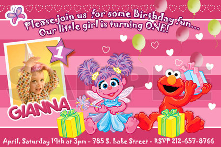 personalized photo elmo birthday invitations ; elmo_abby_cadabby_birthday_invitation_party_-_digital_file_-_photo_custom_personalized_1st_first_card_2a135655