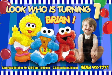 personalized photo elmo birthday invitations ; elmo_birthday_invitation_party_-_digital_file_-_photo_custom_personalized_1st_first_card_a339d7ea