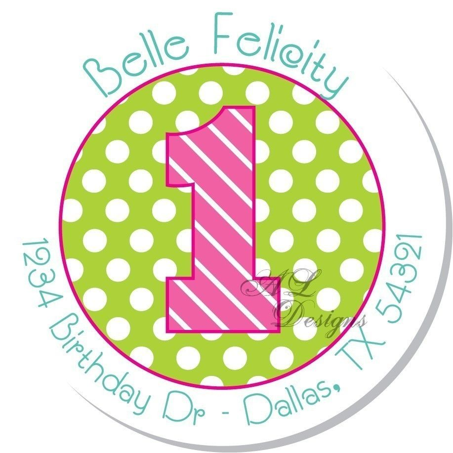 personalized stickers for birthday favors ; aab40345d6645517e46213f42298d432