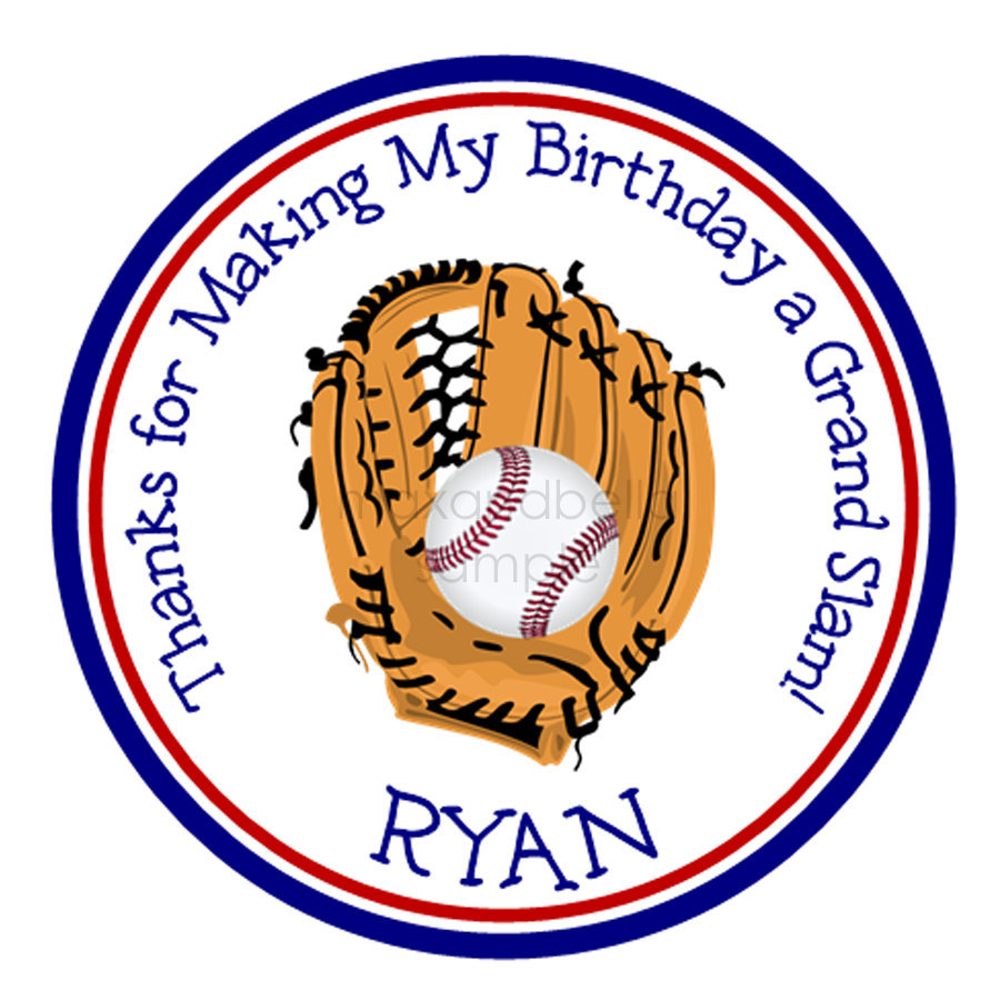 personalized stickers for birthday favors ; il_fullxfull
