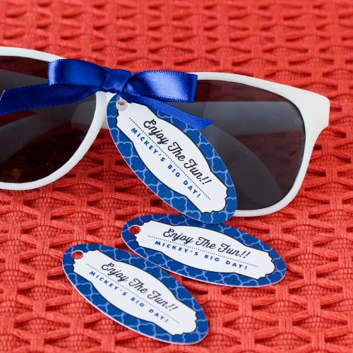 personalized tags for birthday favors ; 107438-500
