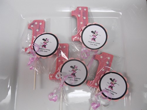 personalized tags for birthday favors ; 24_minnie_mouse_themed_lollipop_favors_with_custom_tags_1st_birthday_9ee5571f_909528