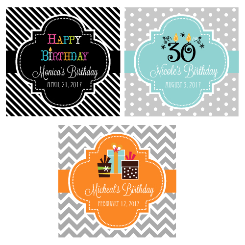 personalized tags for birthday favors ; Personalized-Birthday-2inches-Square-Favor-Labels-%2526-Tags-details
