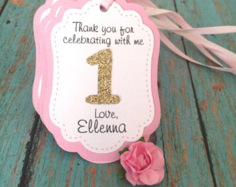 personalized tags for birthday favors ; il_340x270