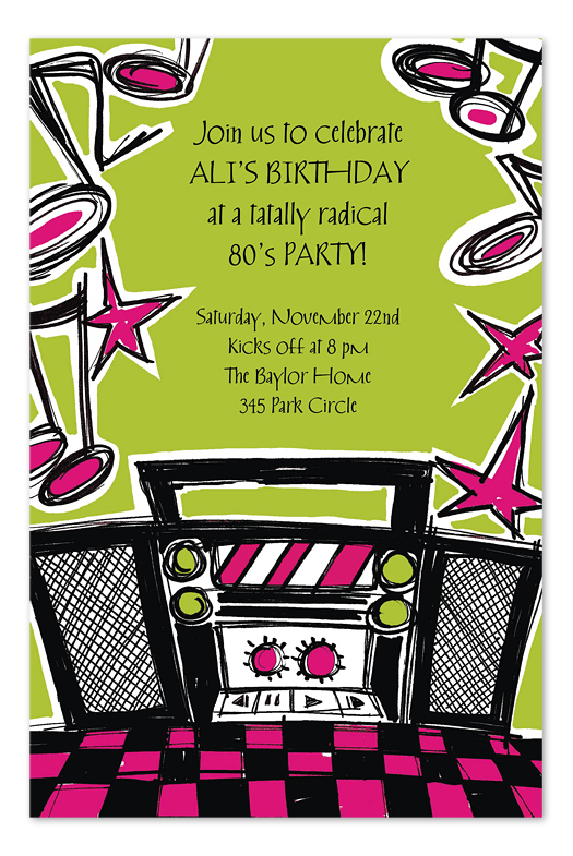 photo booth birthday party invitations ; ICAD1136