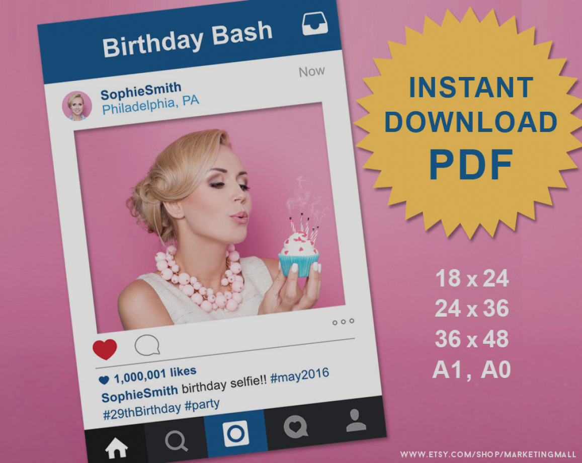 photo booth birthday party invitations ; images-photo-booth-party-invitations-pdf-instagram-style-social-media-prop-frame