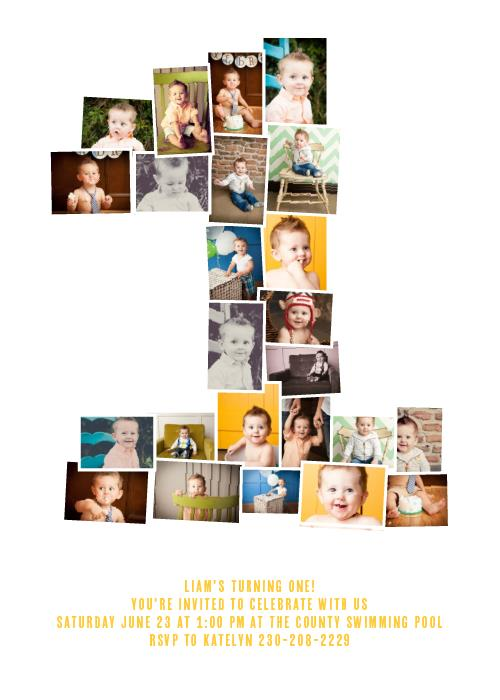 photo collage birthday invitations ; first-birthday-collage_cute-modern-baby-announcements-invitations-on-collage-birthday-invitation-little-builders