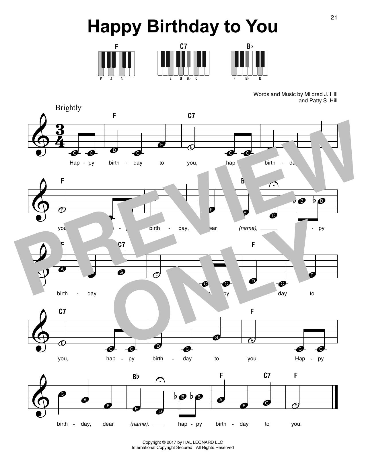 piano notes happy birthday to you ; HL_DDS_12304298cs1VpHCb7
