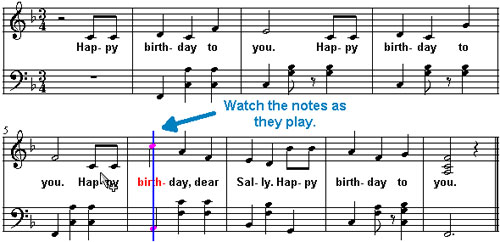 piano notes happy birthday to you ; c1c51d3618705d73a0c1682fe10188dc