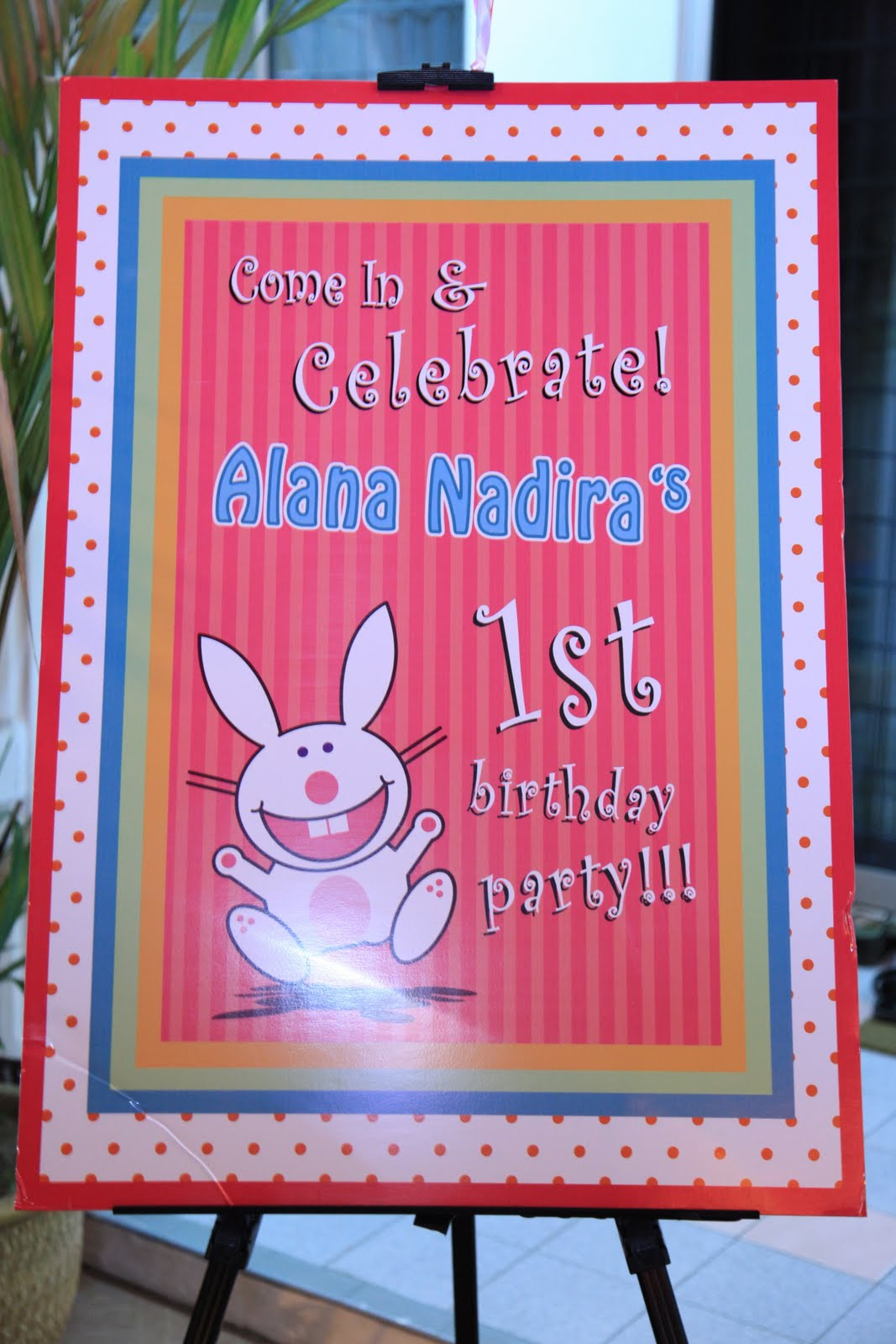 picture board for birthday party ; IMG_6748