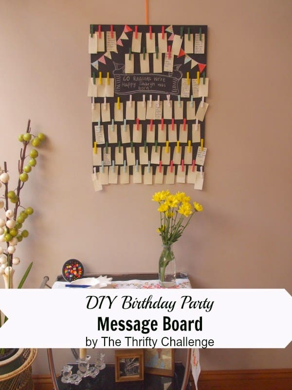 picture board for birthday party ; coverimageboard