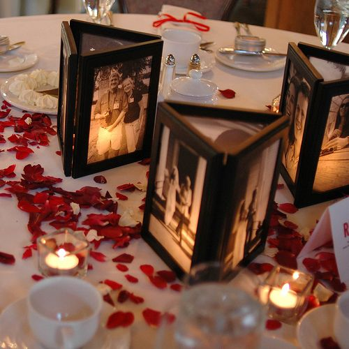 picture centerpieces for birthday party ; 66cd28c91001acc256f9fcde7ffa15ad